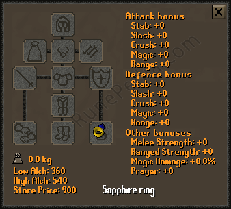 Sapphire Ring Osrs Ge